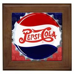 Pepsi Cola Framed Tiles