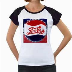 Pepsi Cola Women s Cap Sleeve T