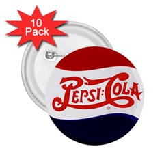 Pepsi Cola 2 25  Buttons (10 Pack)