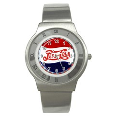 Pepsi Cola Stainless Steel Watch