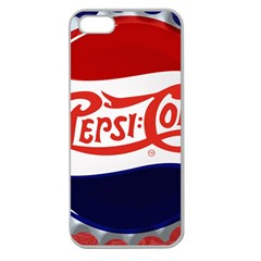 Pepsi Cola Apple Seamless Iphone 5 Case (clear)