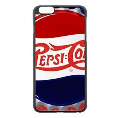 Pepsi Cola Apple Iphone 6 Plus/6s Plus Black Enamel Case