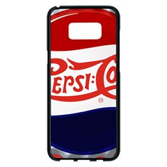 Pepsi Cola Samsung Galaxy S8 Plus Black Seamless Case