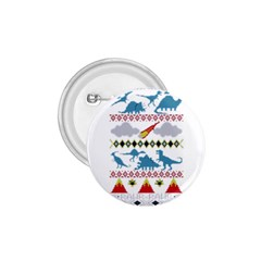 My Grandma Likes Dinosaurs Ugly Holiday Christmas 1 75  Buttons