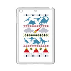 My Grandma Likes Dinosaurs Ugly Holiday Christmas Ipad Mini 2 Enamel Coated Cases