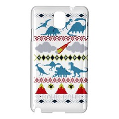 My Grandma Likes Dinosaurs Ugly Holiday Christmas Samsung Galaxy Note 3 N9005 Hardshell Case