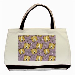 Corgi Pattern Basic Tote Bag
