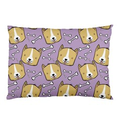 Corgi Pattern Pillow Case