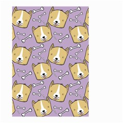 Corgi Pattern Small Garden Flag (two Sides)