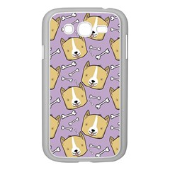 Corgi Pattern Samsung Galaxy Grand Duos I9082 Case (white)