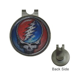 Grateful Dead Logo Hat Clips With Golf Markers