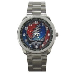Grateful Dead Logo Sport Metal Watch