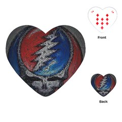 Grateful Dead Logo Playing Cards (heart)