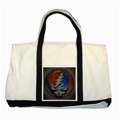 Grateful Dead Logo Two Tone Tote Bag