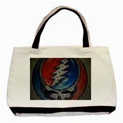 Grateful Dead Logo Basic Tote Bag (two Sides)