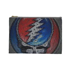 Grateful Dead Logo Cosmetic Bag (large)