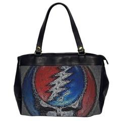 Grateful Dead Logo Office Handbags (2 Sides)