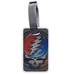 Grateful Dead Logo Luggage Tags (one Side)