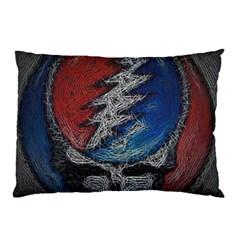 Grateful Dead Logo Pillow Case (two Sides)