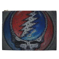 Grateful Dead Logo Cosmetic Bag (xxl)