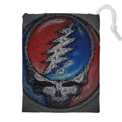 Grateful Dead Logo Drawstring Pouches (xxl)