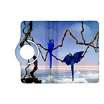 Wonderful Blue  Parrot Looking To The Ocean Kindle Fire HD (2013) Flip 360 Case Front