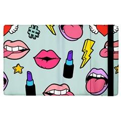 Lipstick Lips Heart Valentine Star Lightning Beauty Sexy Apple Ipad Pro 9 7   Flip Case