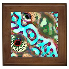 Multiscale Turing Pattern Recursive Coupled Stone Rainbow Framed Tiles