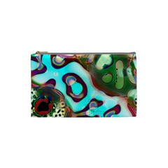 Multiscale Turing Pattern Recursive Coupled Stone Rainbow Cosmetic Bag (small)