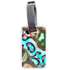 Multiscale Turing Pattern Recursive Coupled Stone Rainbow Luggage Tags (one Side)