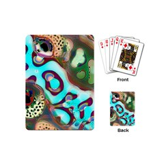 Multiscale Turing Pattern Recursive Coupled Stone Rainbow Playing Cards (mini)