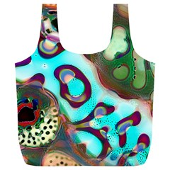 Multiscale Turing Pattern Recursive Coupled Stone Rainbow Full Print Recycle Bags (l)