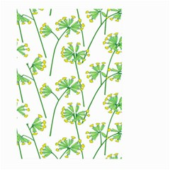Marimekko Fabric Flower Floral Leaf Large Garden Flag (two Sides)