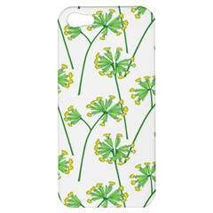 Marimekko Fabric Flower Floral Leaf Apple Iphone 5 Hardshell Case