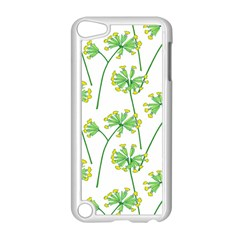 Marimekko Fabric Flower Floral Leaf Apple Ipod Touch 5 Case (white)