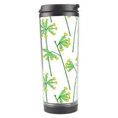 Marimekko Fabric Flower Floral Leaf Travel Tumbler