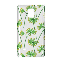 Marimekko Fabric Flower Floral Leaf Samsung Galaxy Note 4 Hardshell Case