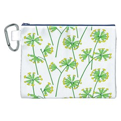 Marimekko Fabric Flower Floral Leaf Canvas Cosmetic Bag (xxl)