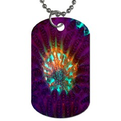 Live Green Brain Goniastrea Underwater Corals Consist Small Dog Tag (one Side)