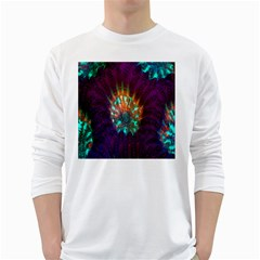 Live Green Brain Goniastrea Underwater Corals Consist Small White Long Sleeve T Shirts