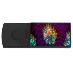 Live Green Brain Goniastrea Underwater Corals Consist Small Rectangular Usb Flash Drive