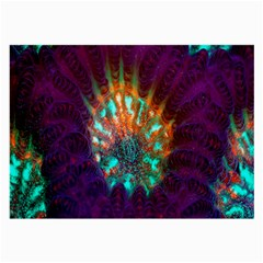 Live Green Brain Goniastrea Underwater Corals Consist Small Large Glasses Cloth (2 Side)