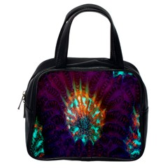 Live Green Brain Goniastrea Underwater Corals Consist Small Classic Handbags (one Side)