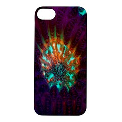 Live Green Brain Goniastrea Underwater Corals Consist Small Apple Iphone 5s/ Se Hardshell Case