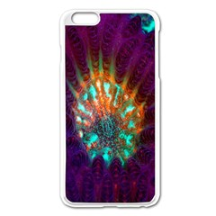 Live Green Brain Goniastrea Underwater Corals Consist Small Apple Iphone 6 Plus/6s Plus Enamel White Case