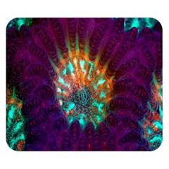 Live Green Brain Goniastrea Underwater Corals Consist Small Double Sided Flano Blanket (small)