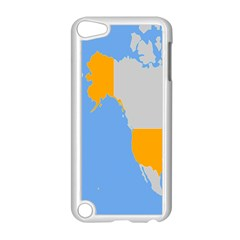 Map Transform World Apple Ipod Touch 5 Case (white)