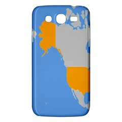 Map Transform World Samsung Galaxy Mega 5 8 I9152 Hardshell Case
