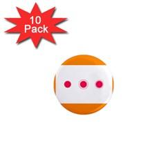 Patterns Types Drag Swipe Fling Activities Gestures 1  Mini Magnet (10 Pack)