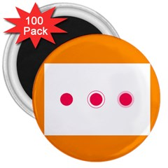 Patterns Types Drag Swipe Fling Activities Gestures 3  Magnets (100 Pack)